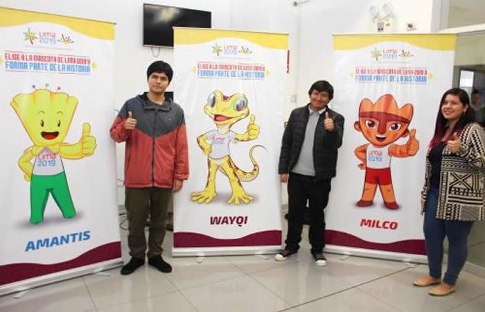 Figura preinca será mascota oficial de Panamericanos Lima