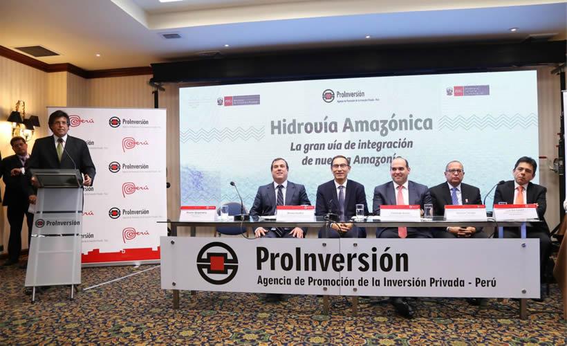Consorcio peruano-chino ganó concesión del proyecto Hidrovía Amazónica