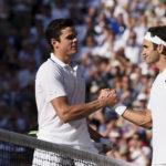 Wimbledon: Federer pasa a semifinales por 12ava vez al vencer a Raonic