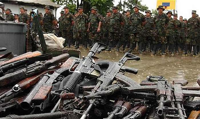 Fueron destruidas 94 caletas de las Farc por la ONU