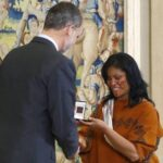 Lideresa asháninka Ruth Buendía recibe Premio Bartolomé de las Casas