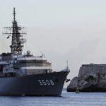 Dos buques de entrenamiento de la Marina de Japón atracan en La Habana