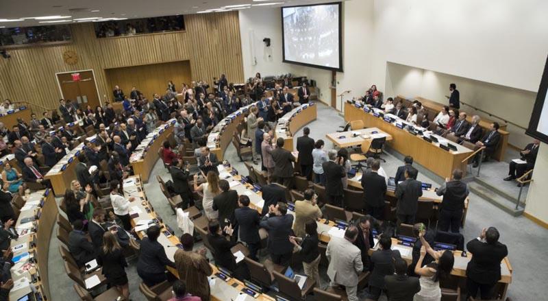 Aprueban más de 120 países primer tratado global para prohibir armas nucleares