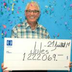Canadá: Jubilado ganó dos veces el premio mayor de la lotería