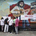 """Venezuela: vicepresidente habla de participación """"masiva"""" en elección de hoy"""