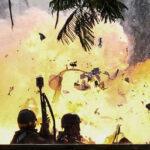 Venezuela: 7 militares heridos al estallar explosivo en protesta opositora (VIDEO)