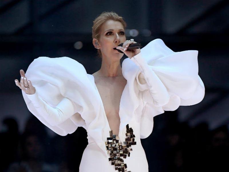 Celine Dion se animó a posar desnuda a los 49 años