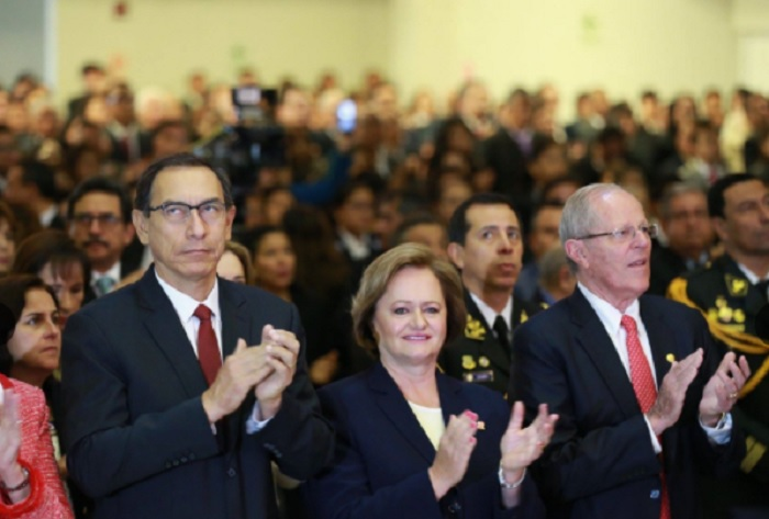 Kuczynski asistió a Ceremonia de Acción de Gracias por el Perú