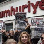 OSCE exige liberación de todos los periodistas de Cumhuriyet