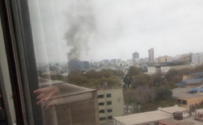 San Isidro: Cuatro heridos por explosiones de balones de gas