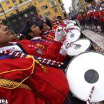 Fiestas Patrias: Así se vivió el Festival de bandas en la Plaza Mayor (FOTOS)