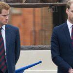Los príncipes Guillermo y Enrique asisten a un homenaje a su madre Diana