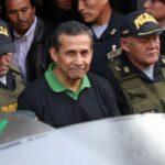 Humala fue recluido en penal Barbadillo de la Diroes (VIDEO)