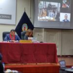 Humala y Nadine en audiencia que ve apelación a prisión preventiva