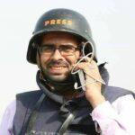 Periodistas palestinos piden la liberación de un compañero arrestado por la ANP