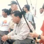 "Kenji Fujimori promete a su padre ""llevarlo pronto a pescar"""