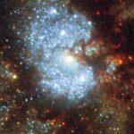 La NASA muestra imágenes de una de las más brillantes galaxias