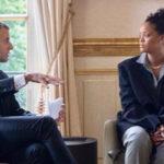 Francia: Rihanna dialogó con Macron sobre fondo de educación (VIDEO)