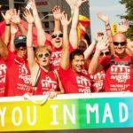 Manifestación masiva reivindica derechos de LGTBI en World Pride de Madrid