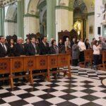 ANP: Misa en templo de Santo Domingo por 89 Aniversario