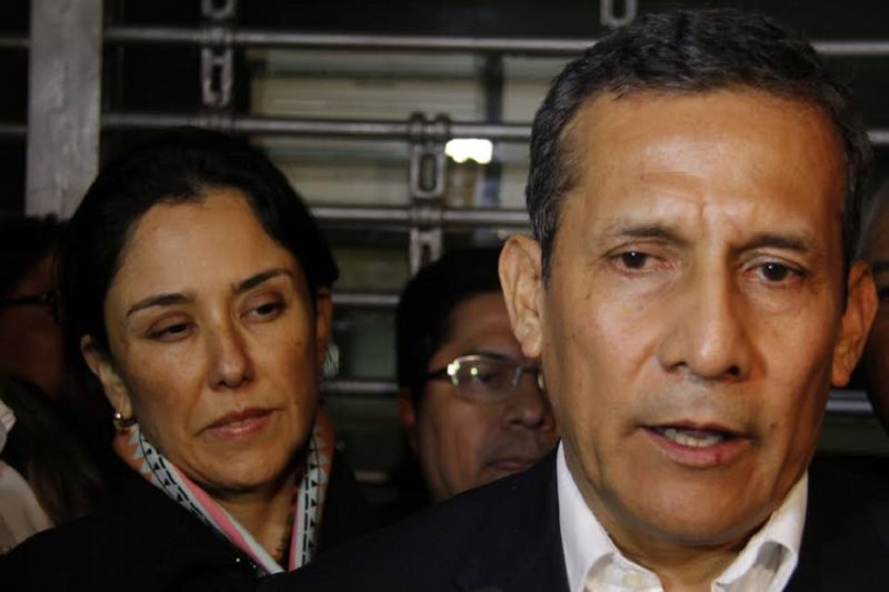 Fiscalía peruana pide prisión preventiva contra expresidente Humala y su esposa