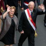 Fiestas Patrias: Kuczynski retornó a Palacio tras Mensaje a la Nación (VIDEO)