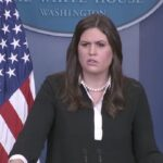 Sarah Sanders sustituirá a Sean Spicer como portavoz de la Casa Blanca