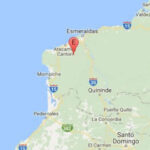 Ecuador: Sismo de 5.7 grados remeció la provincia de Esmeraldas