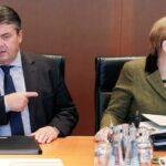 Merkel recibe ataques de su vicecanciller tras disturbios en Hamburgo