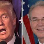 EEUU:Trump bromea con despido de Price si no aprueban reforma de salud