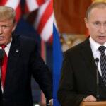 """EEUU y Rusia """"mejoran ambiente"""" para cumbre Putin-Trump este fin de semana"""