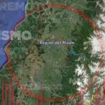 Chile: Sismo de 5,8 grados remeció las regiones de Maule y Biobío