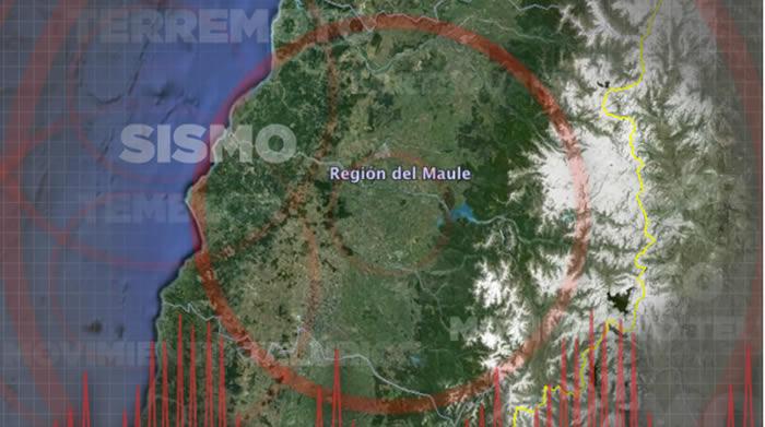 Sismo magnitud 5,8 se registra en Cobquecura — CHILE