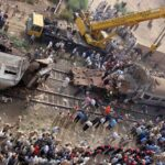 Al menos 36 muertos en un choque de trenes en el norte de Egipto