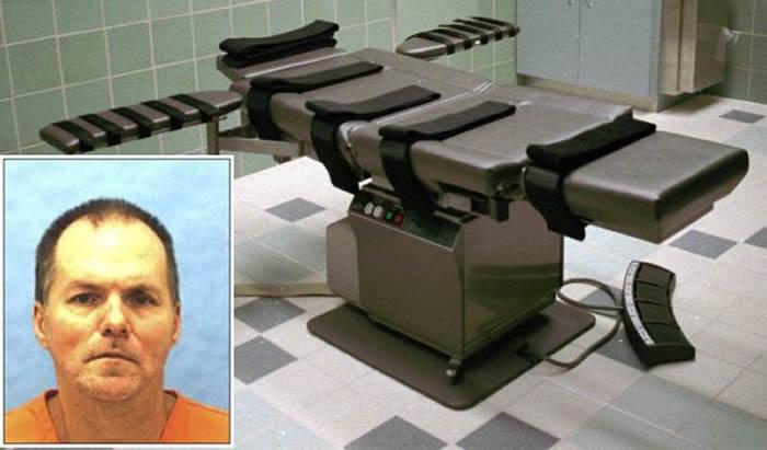 Con una nueva droga será ejecutado supremacista blanco