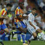 Liga Santander: Valencia saca un empate valioso (2-2) ante Real Madrid