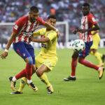 Copa Audi: Atlético de Madrid en 1ra. semifinal ganó 2-1 al Nápoles