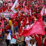 El mayor sindicato de América Latina debate en Sao Paulo el futuro de la democracia