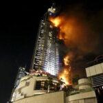 Dubai: Controlan voraz incendio en rascacielos de 86 pisos sin heridos