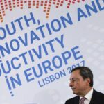 """Presidente del BCE: """"el proteccionismo es un riesgo serio para la productividad"""""""