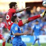 Atlético de Madrid y Getafe en duelo amistoso de poco fútbolempatan 0-0