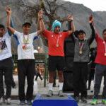 Corredor huancavelicano Remigio Huamán triunfa en Andes Race 30K