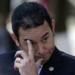 Guatemala: Piden desafuero del presidente por financiación electoral ilícita