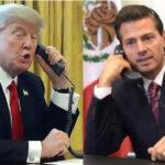 Trump pidió a Peña Nieto que dejase de decir que México no pagaría el muro (VIDEO)