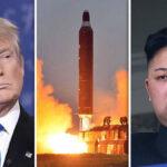 Trump: Respuesta con furia y fuego si Corea del Norte aumenta amenaza nuclear