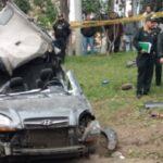 Vía Expresa: Un muerto y cuatro heridos deja despiste de auto (VIDEO)
