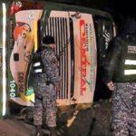 Carretera Central: Dos muertos deja vuelco de bus en Junín