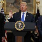 Trump respalda proyecto para reducir a la mitad la inmigración legal