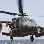 Helicóptero militar de EEUU se estrella en la costa sur de Yemen
