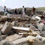 Al menos 37 personas mueren en bombardeo árabe en la capital yemení